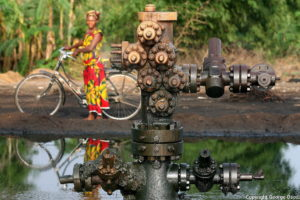 Oil Rich Niger Delta copyright by 2003 George Osodi.
