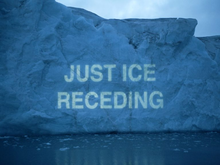 Ice Texts, (c) David Buckland