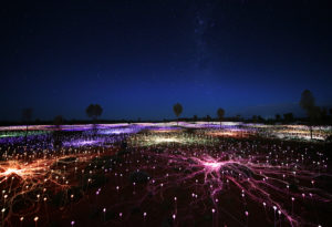 Field Of Light copyright by 2021 Bruce Munro. All rights reserved. Photography by Mark Pickthall.